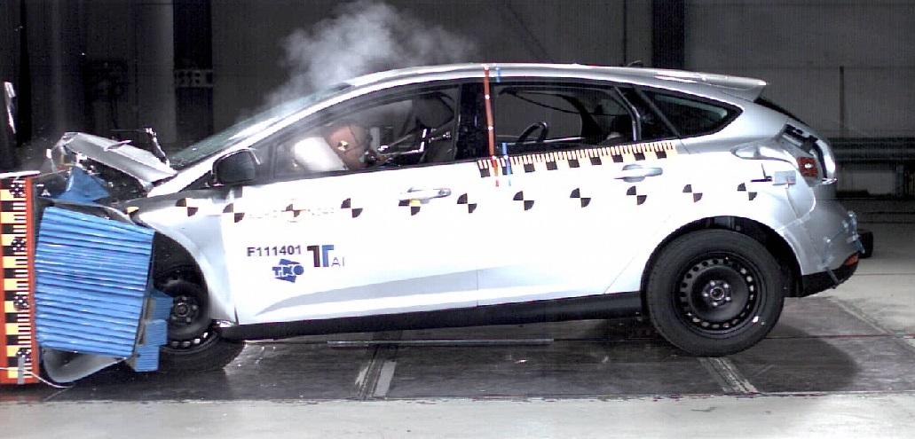 Краш тест Ford Focus 3